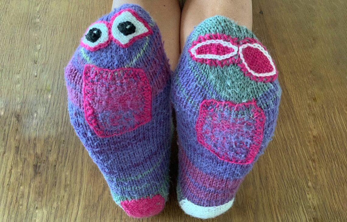 Socken stopfen kostenlose Anleitung